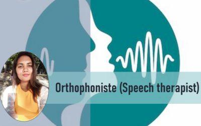 Mo La Sante Avan Tou – Orthophoniste (Speech therapist)