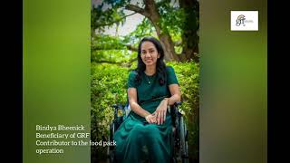 [VIDEO] Bindya Bheenick, l'ambassadrice de la Global Rainbow Foundation, a contribué à l'opération de distribution de produits alimentaires de la GRF