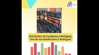 [video] Le bureau centrale de la Global Rainbow Foundation à Maurice fournira 30 foodpack supplémentaires à Rodrigues