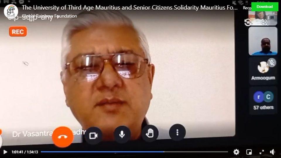 Vaccin Covid-19: Des questions ont été soulevées lors de la session en direct le jeudi 8 mai avec le Dr Vasantrao Gujadhur