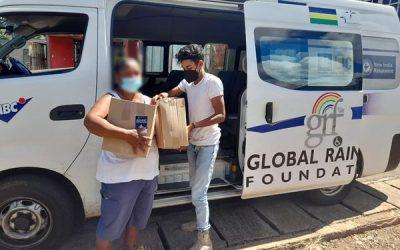 Confinement: Depuis ce lundi 22 mars, nous avons achevé la livraison d'une centaine de foodpacks à nos bénéficiaires, des personnes en situation de d'handicap et des groupes vulnérables