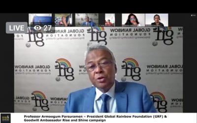 Discours du Prof Parsuramen pour la journée mondiale de la liberté de la presse lors de la conférence virtuelle de l'UE