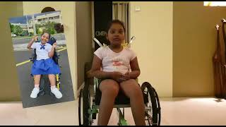 [VIDEO] Miss Kanye Navya Devi, our young beneficiary has a severe case of spinal muscle atrophy
