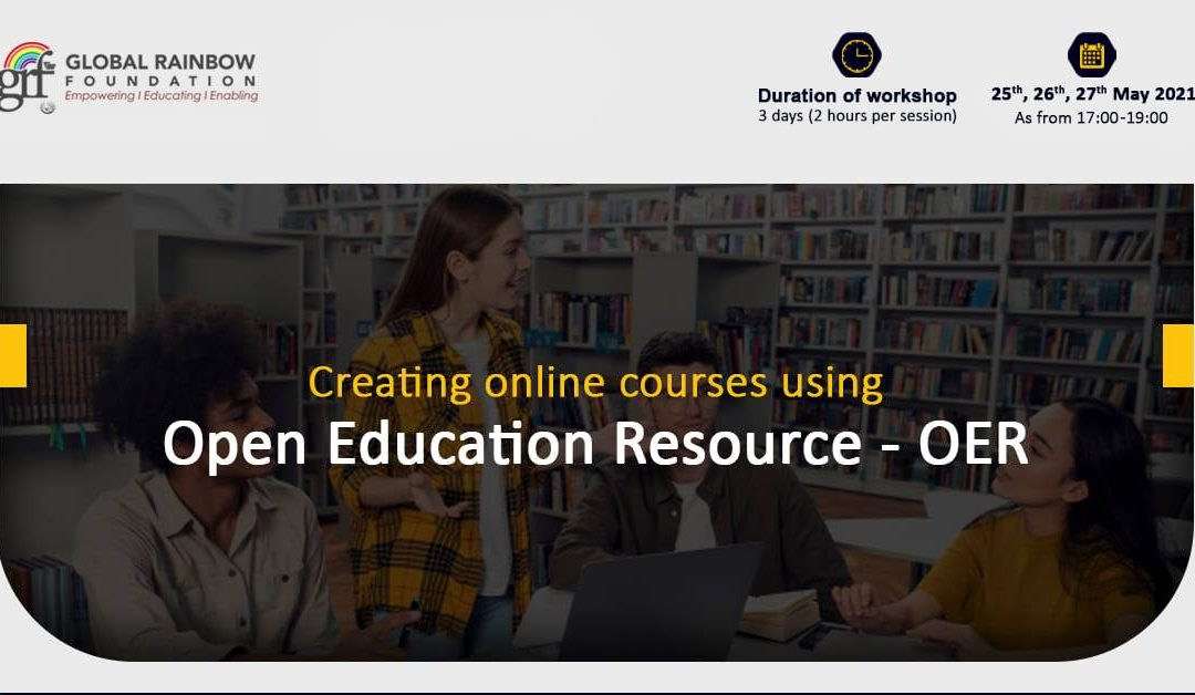 Creating online courses using OER