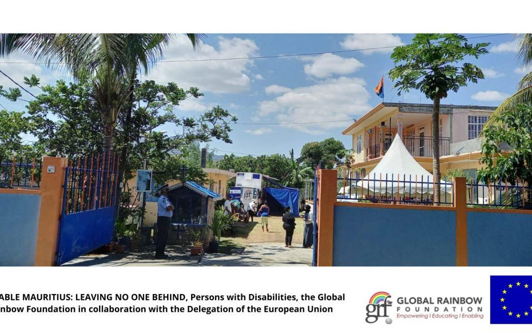 Camp médical au Groupe de Réfugiés de Chagos organisé par la GRF et le Rotary Club Gros Cailloux Petit Rivière
