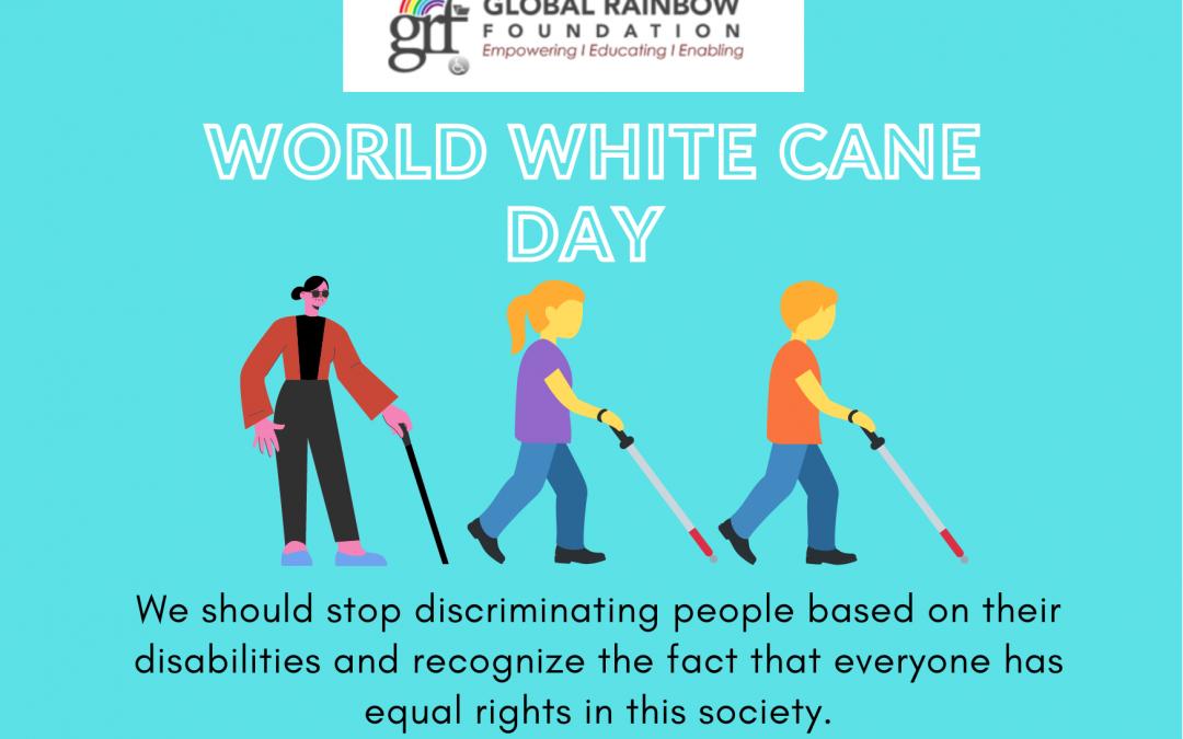 Journée mondiale de la canne blanche