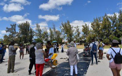 La Global Rainbow Foundation lance son projet d'accessibilité des plages à Flic en Flac